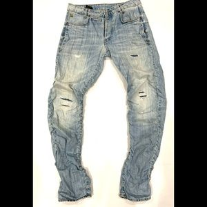 G Star STAQ 3D Straight Tapered Jeans 32/34.